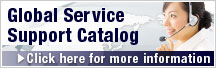 Global Service Support Catalog